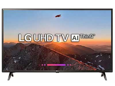 LG major tv brands